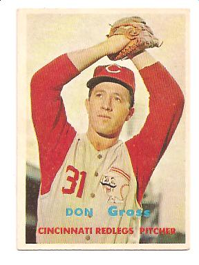 1957 Topps #341 Don Gross RC