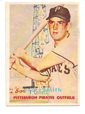 1957 Topps #345 Paul Smith