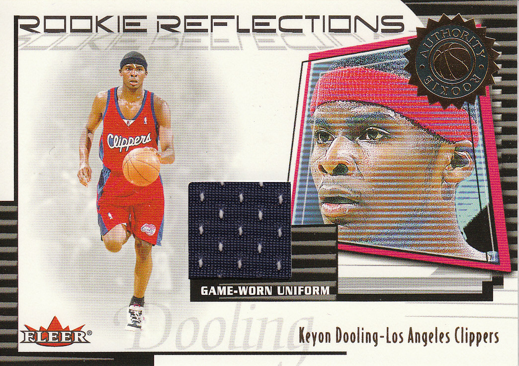 2000-01 Fleer Authority Rookie Reflections #RR3 Keyon Dooling
