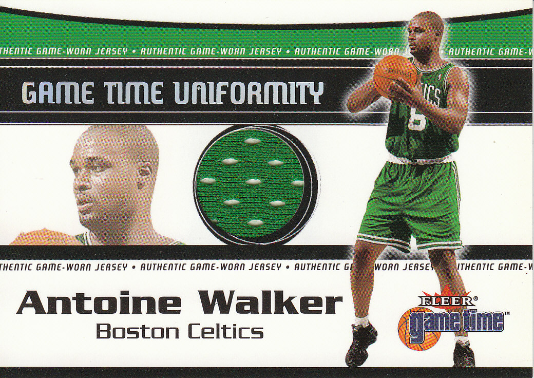 2000-01 Fleer Game Time Uniformity #22 Antoine Walker