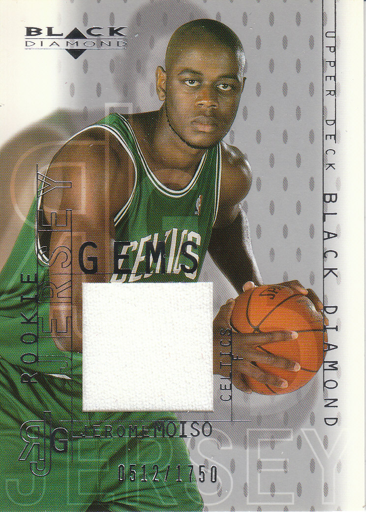 2000-01 Black Diamond #121 Jerome Moiso JSY RC