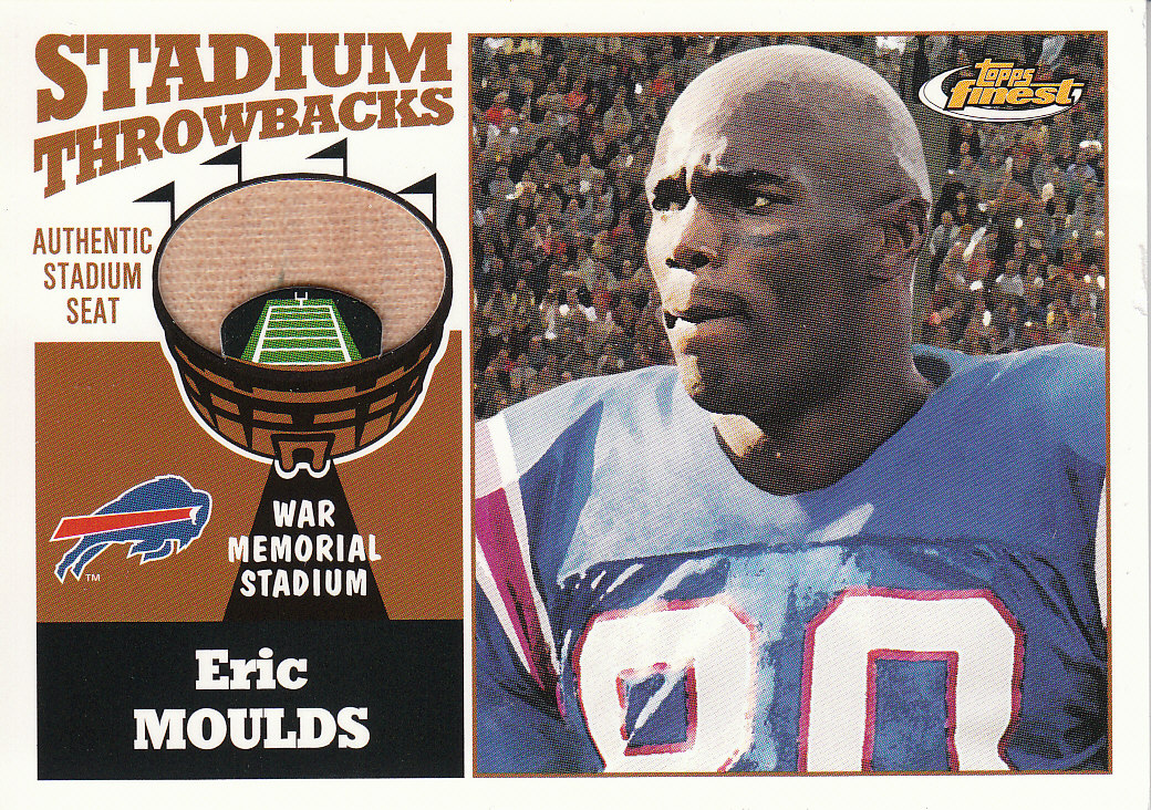 2001 Finest Stadium Throwback Relics #FSEM Eric Moulds