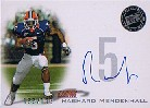 2008 Press Pass Autographs Silver #PPSRM Rashard Mendenhall/159