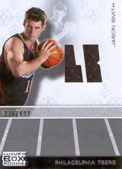 2007-08 Topps Luxury Box Rookie Relics #JS Jason Smith