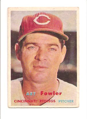 1957 Topps #233 Art Fowler