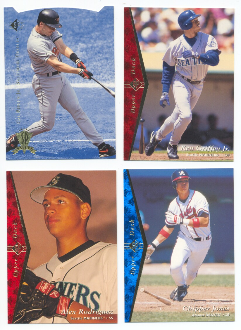 1995 SP Baseball Set 1-207
