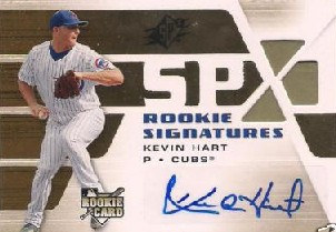 2008 SPx #106 Kevin Hart AU (RC)
