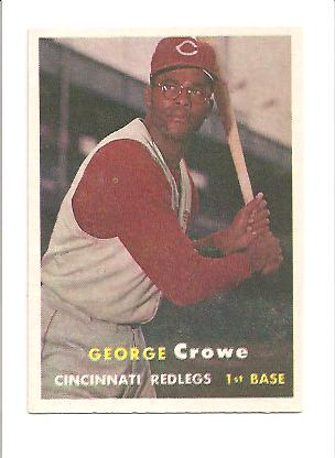 1957 Topps #73 George Crowe