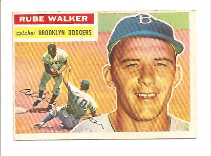 1956 Topps #333 Rube Walker