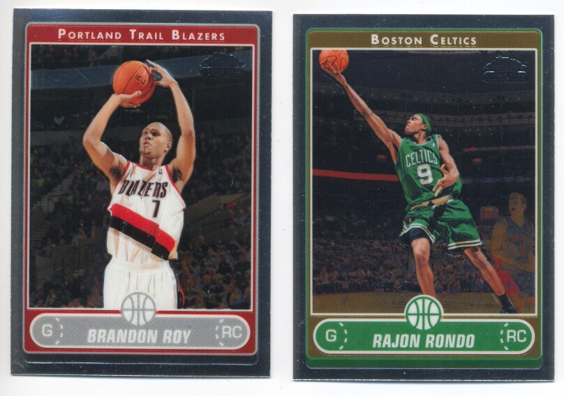 2006-07 Topps Chrome Basketball Set 1-210