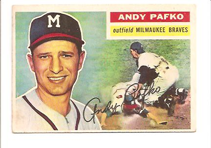 1956 Topps #312 Andy Pafko