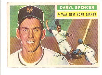 1956 Topps #277 Daryl Spencer