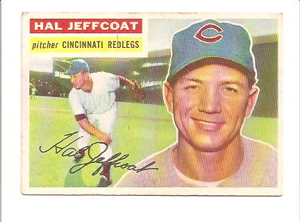 1956 Topps #289 Hal Jeffcoat