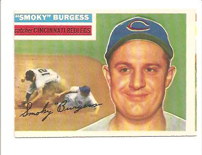 1956 Topps #192 Smoky Burgess