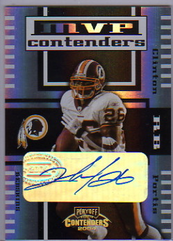 2004 Playoff Contenders MVP Contenders Autographs #MC3 Clinton Portis