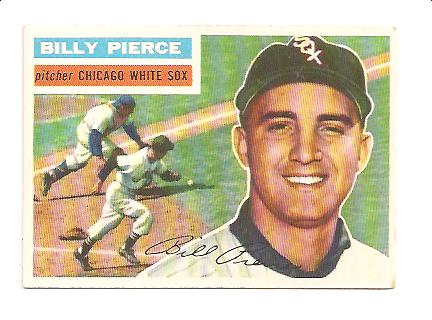 1956 Topps #160 Billy Pierce