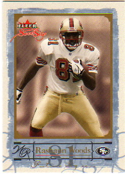 2004 Fleer Sweet Sigs Gold #82 Rashaun Woods