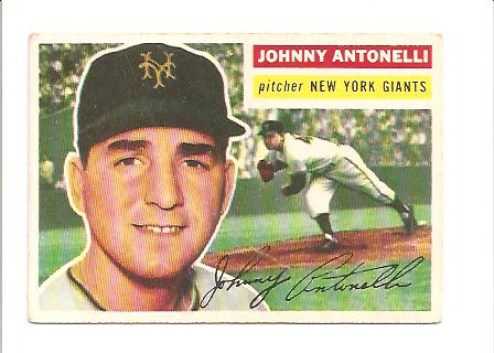 1956 Topps #138 Johnny Antonelli