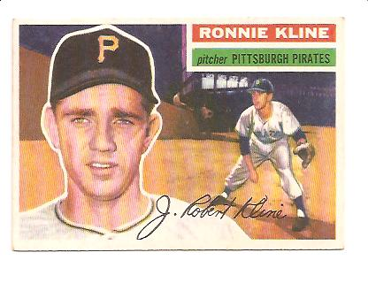 1956 Topps #94 Ron Kline