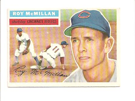 1956 Topps #123 Roy McMillan
