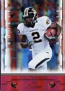 2008 Playoff Prestige Xtra Points Red #199 Will Franklin