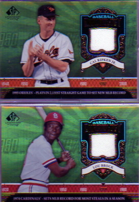 2006 SP Legendary Cuts Baseball Chronology Materials #CR Cal Ripken Pants