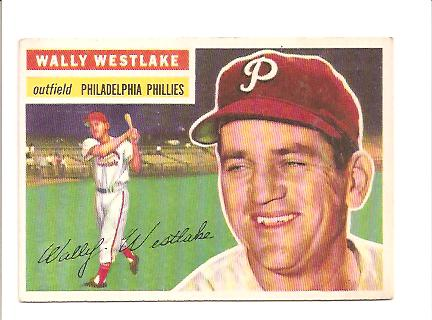 1956 Topps #81 Wally Westlake