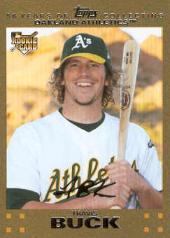 2007 Topps Update Gold #177 Travis Buck