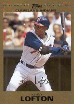 2007 Topps Update Gold #328 Kenny Lofton