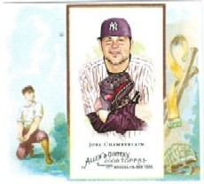 2008 Topps Allen and Ginter N43 #JC Joba Chamberlain