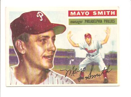 1956 Topps #60 Mayo Smith MG DP