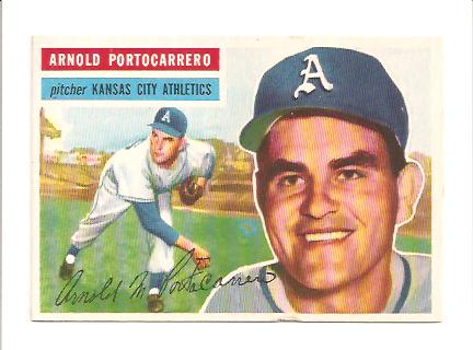 1956 Topps #53 Arnie Portocarrero