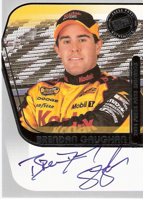 2004 Press Pass Signings #20 Brendan Gaughan O/P/S/T/V