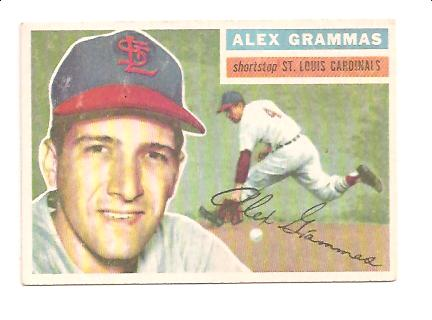 1956 Topps #37 Alex Grammas