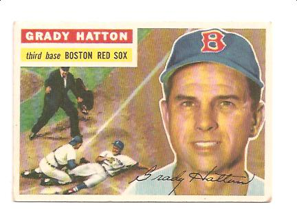 1956 Topps #26A Grady Hatton GB