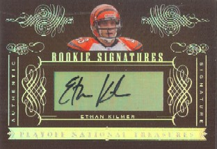 2006 Playoff National Treasures #163 Ethan Kilmer AU RC
