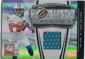 2008 Donruss Elite Zoning Commission Jerseys #5 Ted Ginn Jr.
