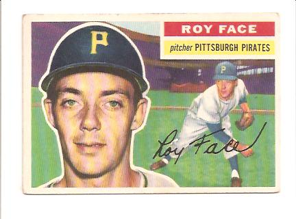 1956 Topps #13A Roy Face GB