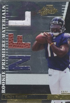 2007 Absolute Memorabilia Rookie Premiere Materials AFC/NFC #284 Troy Smith