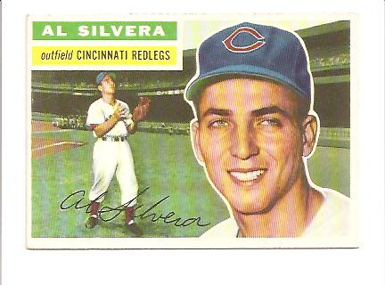 1956 Topps #137A Al Silvera WB