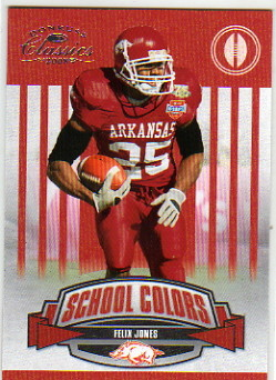 2008 Donruss Classics School Colors #45 Felix Jones