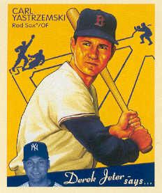 2008 Upper Deck Goudey Mini Blue Backs #204 Carl Yastrzemski