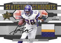 2008 Leaf Rookies And & Stars Football Factory Sealed HOBBY Box - 4 Autographed ( Possible Adrian Peterson Matt Ryan Darren McFadden ) Or Memorabilia Cards & 4 #ed Rookies Per Box On Avg. - In Stock  front image