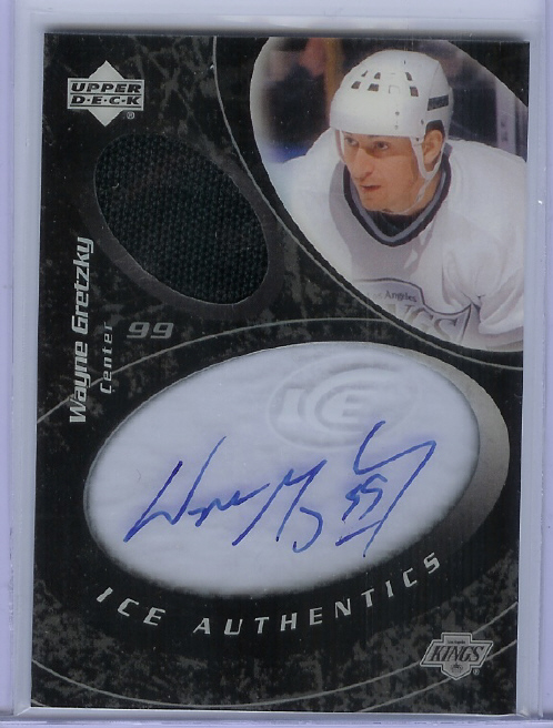 2003-04 Upper Deck Ice Authentics #IAWG Wayne Gretzky