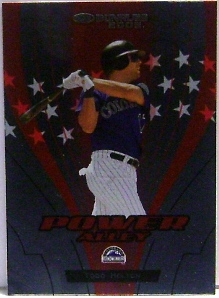 2005 Donruss Power Alley Red #24 Todd Helton