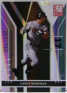 2004 Donruss Elite Turn of the Century #106 Lance Berkman