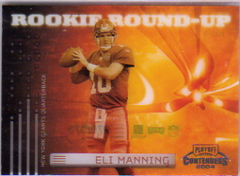 2004 Playoff Contenders Rookie Round Up #RU1 Eli Manning