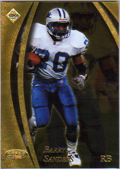 1998 Collector's Edge Masters 50-point Gold #64 Barry Sanders