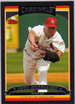 2006 Topps Black #522 Jason Isringhausen