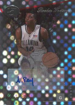 2006-07 Bowman Elevation Rookie Writing Autographs #AR Allan Ray